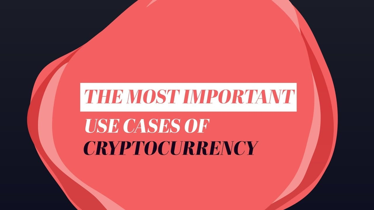 What are the uses of cryptocurrencies?